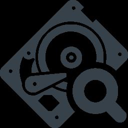 Hddドライブの診断 検査の無料アイコン素材 2 商用可の無料 フリー のアイコン素材をダウンロードできるサイト Icon Rainbow