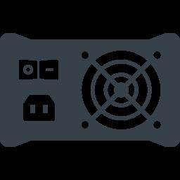 パソコンの電源ユニット ボックス の無料アイコン素材 2 商用可の無料 フリー のアイコン素材をダウンロードできるサイト Icon Rainbow