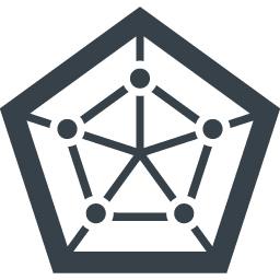 5角形のグラフ レーダーチャート の無料アイコン素材 1 商用可の無料 フリー のアイコン素材をダウンロードできるサイト Icon Rainbow