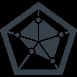 5角形のグラフ レーダーチャート の無料アイコン素材 4 商用可の無料 フリー のアイコン素材をダウンロードできるサイト Icon Rainbow