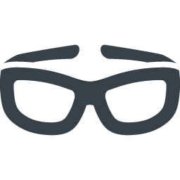 スポーティなメガネの無料アイコン素材 1 商用可の無料 フリー のアイコン素材をダウンロードできるサイト Icon Rainbow