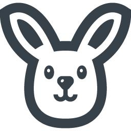 ウサギの無料アイコン素材 3 商用可の無料 フリー のアイコン素材をダウンロードできるサイト Icon Rainbow
