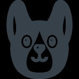コリーっぽい子犬の無料アイコン素材 商用可の無料 フリー のアイコン素材をダウンロードできるサイト Icon Rainbow