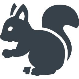 リスの無料アイコン素材 2 商用可の無料 フリー のアイコン素材をダウンロードできるサイト Icon Rainbow