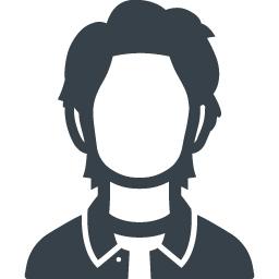 若い男性の無料アイコン素材 2 商用可の無料 フリー のアイコン素材をダウンロードできるサイト Icon Rainbow