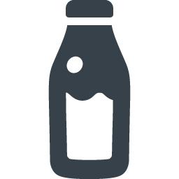 牛乳ビンの無料アイコン素材 4 商用可の無料 フリー のアイコン素材をダウンロードできるサイト Icon Rainbow