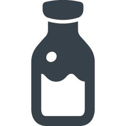 牛乳ビンの無料アイコン素材 5 商用可の無料 フリー のアイコン素材をダウンロードできるサイト Icon Rainbow