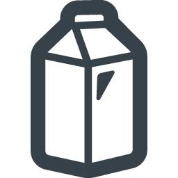 紙パックの飲料水のアイコン素材 1 商用可の無料 フリー のアイコン素材をダウンロードできるサイト Icon Rainbow