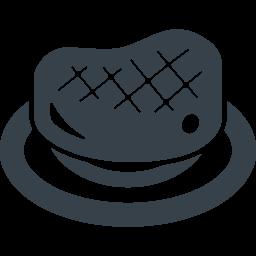 ステーキの無料アイコン素材 3 商用可の無料 フリー のアイコン素材をダウンロードできるサイト Icon Rainbow