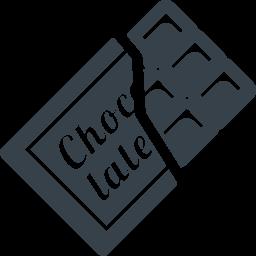 板チョコの無料アイコン素材 2 商用可の無料 フリー のアイコン素材をダウンロードできるサイト Icon Rainbow