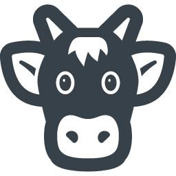 牛さんの無料アイコン素材 3 商用可の無料 フリー のアイコン素材をダウンロードできるサイト Icon Rainbow