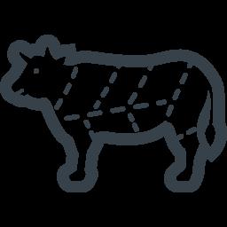 牛のお肉の部位の無料アイコン素材 1 商用可の無料 フリー のアイコン素材をダウンロードできるサイト Icon Rainbow