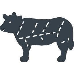 牛のお肉の部位の無料アイコン素材 2 商用可の無料 フリー のアイコン素材をダウンロードできるサイト Icon Rainbow