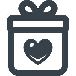心のこもったプレゼントのアイコン素材 商用可の無料 フリー のアイコン素材をダウンロードできるサイト Icon Rainbow