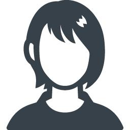 女の子の無料アイコン素材 1 商用可の無料 フリー のアイコン素材をダウンロードできるサイト Icon Rainbow
