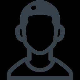 坊主の男子の無料アイコン素材 2 商用可の無料 フリー のアイコン素材をダウンロードできるサイト Icon Rainbow