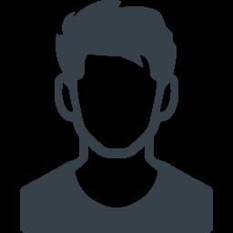 短髪のスポーツマンの無料アイコン素材 商用可の無料 フリー のアイコン素材をダウンロードできるサイト Icon Rainbow