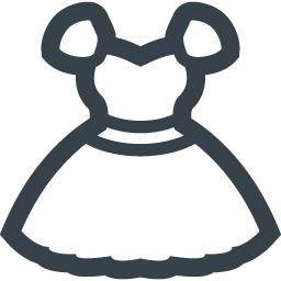 ドレスの無料アイコン素材 商用可の無料 フリー のアイコン素材をダウンロードできるサイト Icon Rainbow