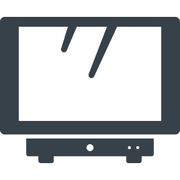 薄型テレビとblu Rayの無料アイコン素材 1 商用可の無料 フリー のアイコン素材をダウンロードできるサイト Icon Rainbow