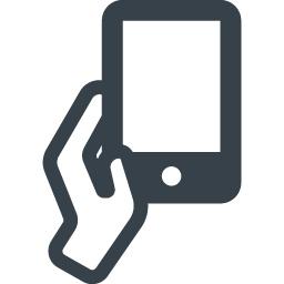 スマートフォンの手渡しの無料アイコン素材 商用可の無料 フリー のアイコン素材をダウンロードできるサイト Icon Rainbow