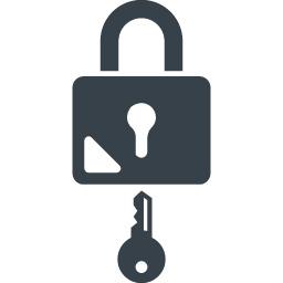 鍵 錠の無料アイコン素材 2 商用可の無料 フリー のアイコン素材をダウンロードできるサイト Icon Rainbow