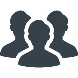 グループ メンバーの無料アイコン素材 商用可の無料 フリー のアイコン素材をダウンロードできるサイト Icon Rainbow
