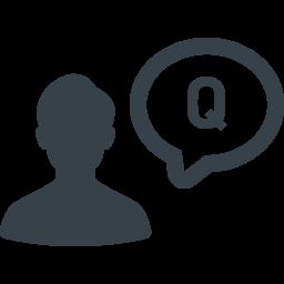 お問い合わせの質問 アイコン素材 2 商用可の無料 フリー のアイコン素材をダウンロードできるサイト Icon Rainbow