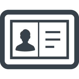 免許証 証明書の無料アイコン素材 1 商用可の無料 フリー のアイコン素材をダウンロードできるサイト Icon Rainbow
