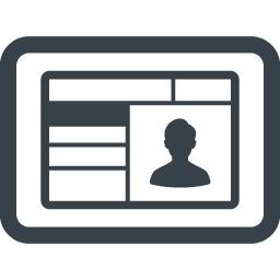 免許証 証明書の無料アイコン素材 3 商用可の無料 フリー のアイコン素材をダウンロードできるサイト Icon Rainbow
