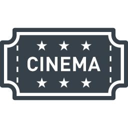 映画のチケットの無料アイコン素材 2 商用可の無料 フリー のアイコン素材をダウンロードできるサイト Icon Rainbow