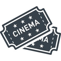 映画のチケットの無料アイコン素材 3 商用可の無料 フリー のアイコン素材をダウンロードできるサイト Icon Rainbow