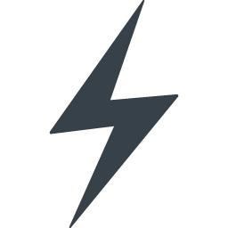 電気 カミナリマークの無料アイコン素材 3 商用可の無料 フリー のアイコン素材をダウンロードできるサイト Icon Rainbow