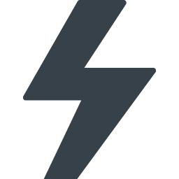 電気 カミナリマークの無料アイコン素材 6 商用可の無料 フリー のアイコン素材をダウンロードできるサイト Icon Rainbow