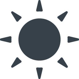 太陽マークの無料アイコン素材 5 商用可の無料 フリー のアイコン素材をダウンロードできるサイト Icon Rainbow