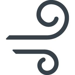 風マークの無料アイコン素材 商用可の無料 フリー のアイコン素材をダウンロードできるサイト Icon Rainbow