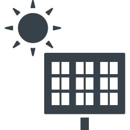 太陽光発電パネルの無料アイコン 4 商用可の無料 フリー のアイコン素材をダウンロードできるサイト Icon Rainbow