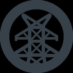 送電線の鉄塔の無料アイコン素材 8 商用可の無料 フリー のアイコン素材をダウンロードできるサイト Icon Rainbow