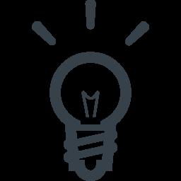 豆電球の無料アイコン素材 8 商用可の無料 フリー のアイコン素材をダウンロードできるサイト Icon Rainbow