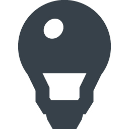 Led電球の無料アイコン素材 8 商用可の無料 フリー のアイコン素材をダウンロードできるサイト Icon Rainbow