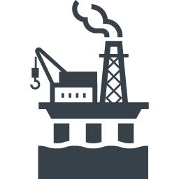 石油掘削の海上プラットフォームの無料アイコン 2 商用可の無料 フリー のアイコン素材をダウンロードできるサイト Icon Rainbow