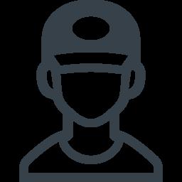 帽子をかぶった少年の無料アイコン素材 商用可の無料 フリー のアイコン素材をダウンロードできるサイト Icon Rainbow