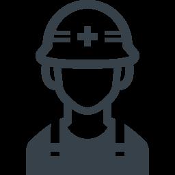 工事現場の作業員の無料アイコン素材 1 商用可の無料 フリー のアイコン素材をダウンロードできるサイト Icon Rainbow