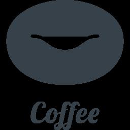 コーヒー豆の無料アイコン素材 1 商用可の無料 フリー のアイコン素材をダウンロードできるサイト Icon Rainbow