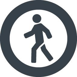歩く人のシルエットアイコン素材 3 商用可の無料 フリー のアイコン素材をダウンロードできるサイト Icon Rainbow
