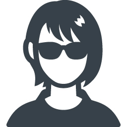 サングラスをかけた女性の無料アイコン素材 商用可の無料 フリー のアイコン素材をダウンロードできるサイト Icon Rainbow