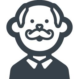 おじいちゃんの無料アイコン素材 2 商用可の無料 フリー のアイコン素材をダウンロードできるサイト Icon Rainbow