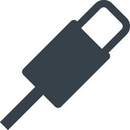 Iphone風のlightningケーブルの無料アイコン素材 1 商用可の無料 フリー のアイコン素材をダウンロードできるサイト Icon Rainbow