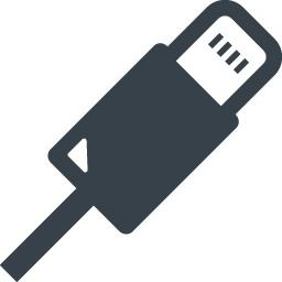 Iphone風のlightningケーブルの無料アイコン素材 2 商用可の無料 フリー のアイコン素材をダウンロードできるサイト Icon Rainbow