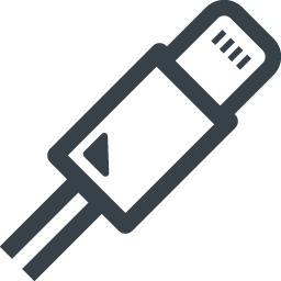 Iphone風のlightningケーブルの無料アイコン素材 4 商用可の無料 フリー のアイコン素材をダウンロードできるサイト Icon Rainbow
