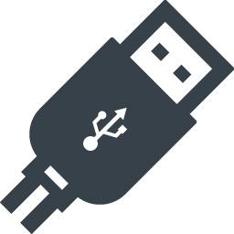 Usbケーブルの無料アイコン素材 2 商用可の無料 フリー のアイコン素材をダウンロードできるサイト Icon Rainbow